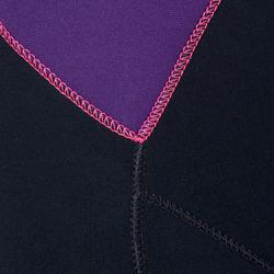 Fullsuit voor dames SCD 100 3 mm met rugsluiting. - 1205849
