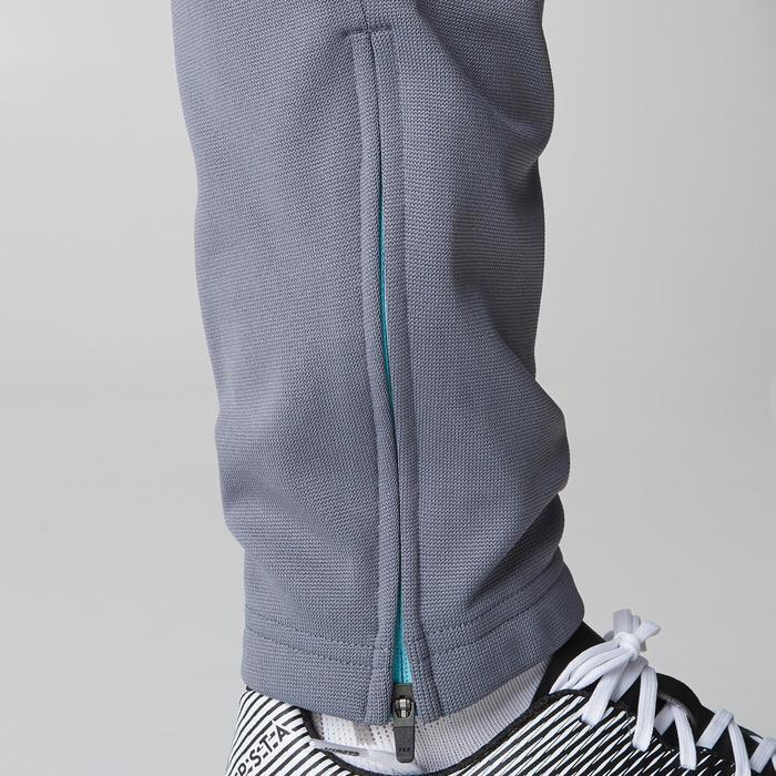 Pantalon d'entraînement de football femme TP500 gris menthe - 1205983