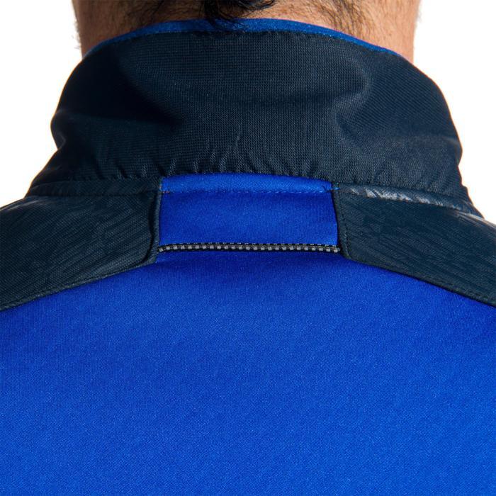 Sweat entraînement rugby Spacer adulte bleu