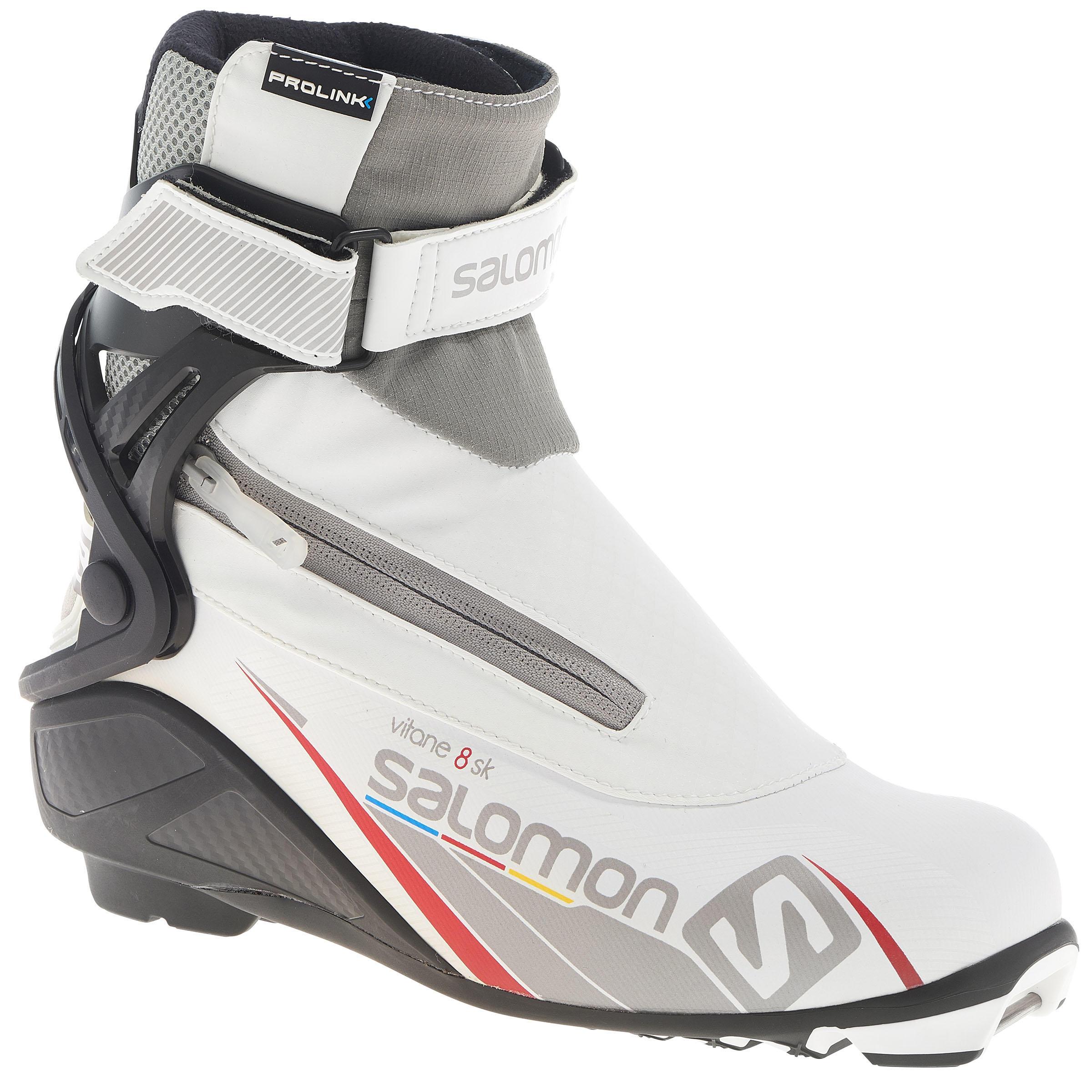 Salomon Langlaufschoenen voor dames, voor sportief skating, Vitane 8 Prolink thumbnail