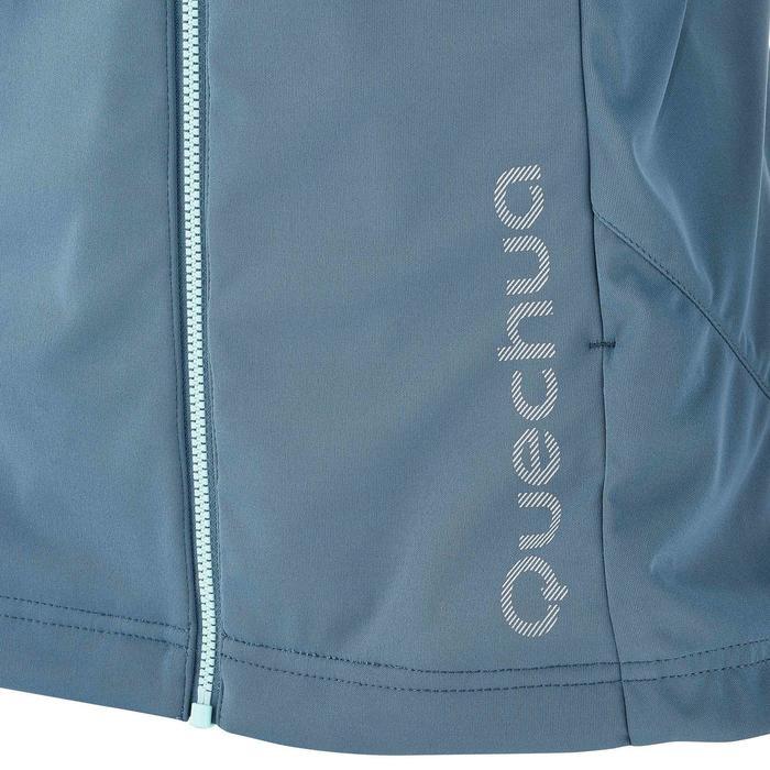 Veste ski de fond coupe vent femme grise - 1206305
