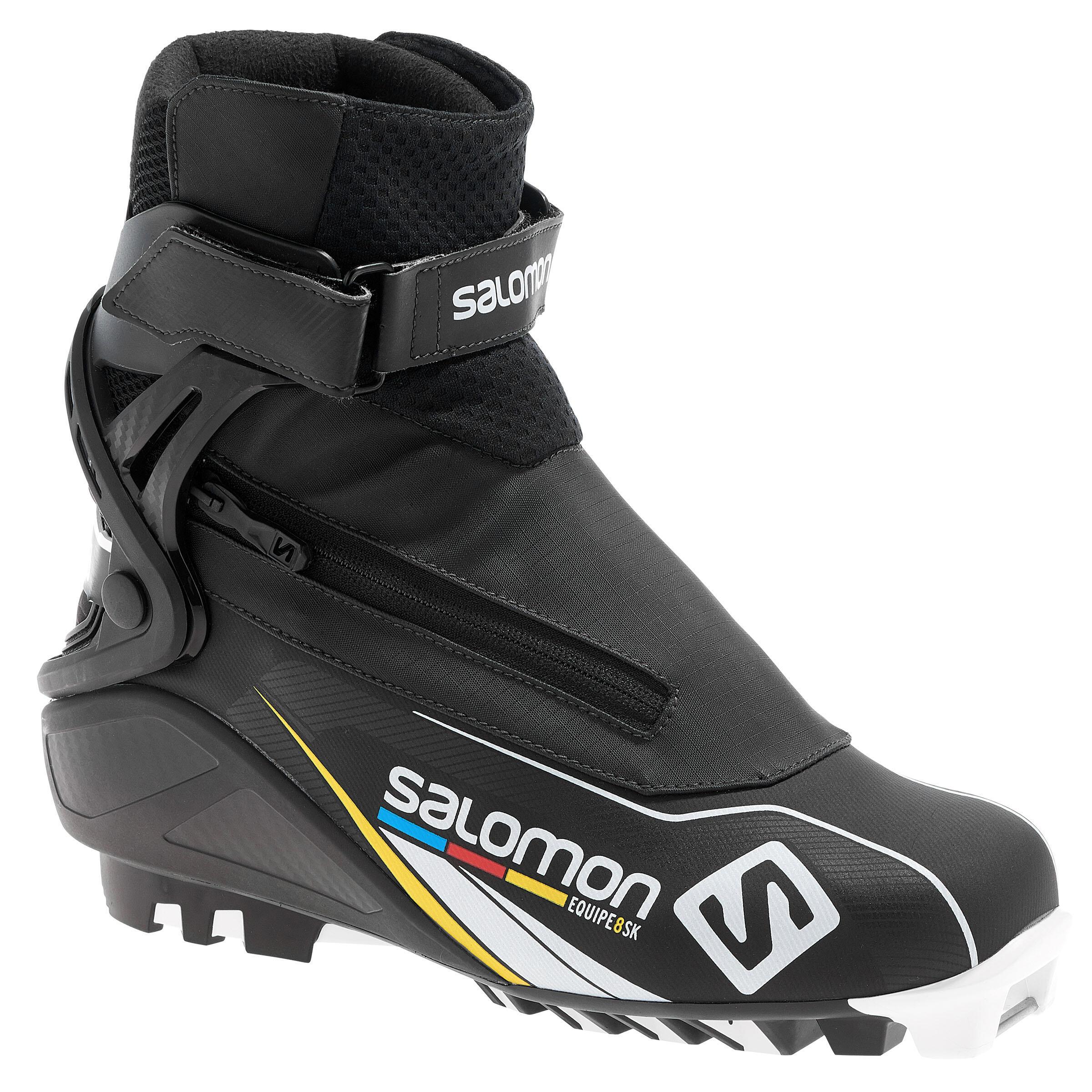 Salomon Skating langlaufschoenen voor heren sportief Equipe 8 Prolink thumbnail
