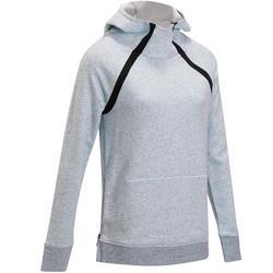 Dames hoodie voor gym en pilates slubeffect