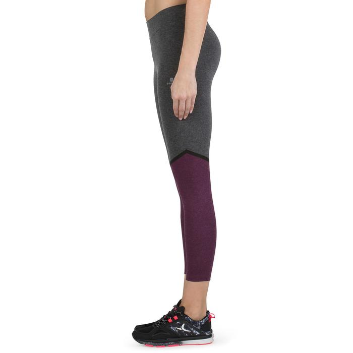 Legging 7/8 FIT+ 500 slim Gym & Pilates femme noir - 1206567