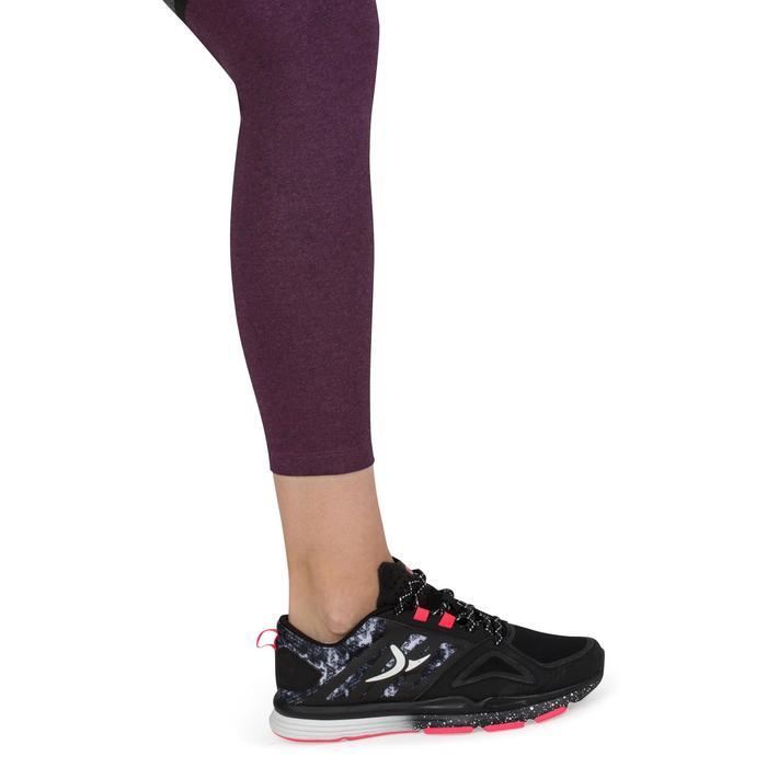 Legging 7/8 FIT+ 500 slim Gym & Pilates femme noir - 1206673