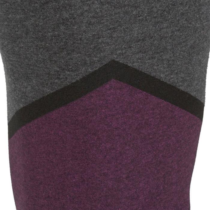 Legging 7/8 FIT+ 500 slim Gym & Pilates femme noir - 1206900
