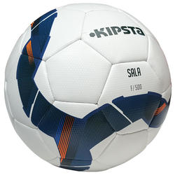 Zaalvoetbal F500 hybride maat 5 wit - 1206977