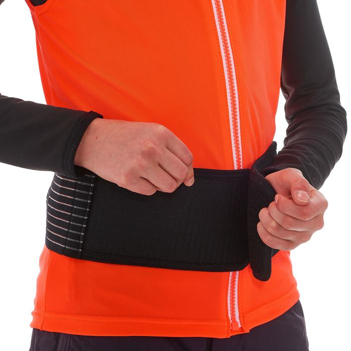 Gilet protection dorsale de ski et snowboard DBCK 100 JR orange - 1206984