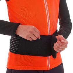 Gilet protection dorsale de snowboard (et de ski) junior DBCK 100 orange
