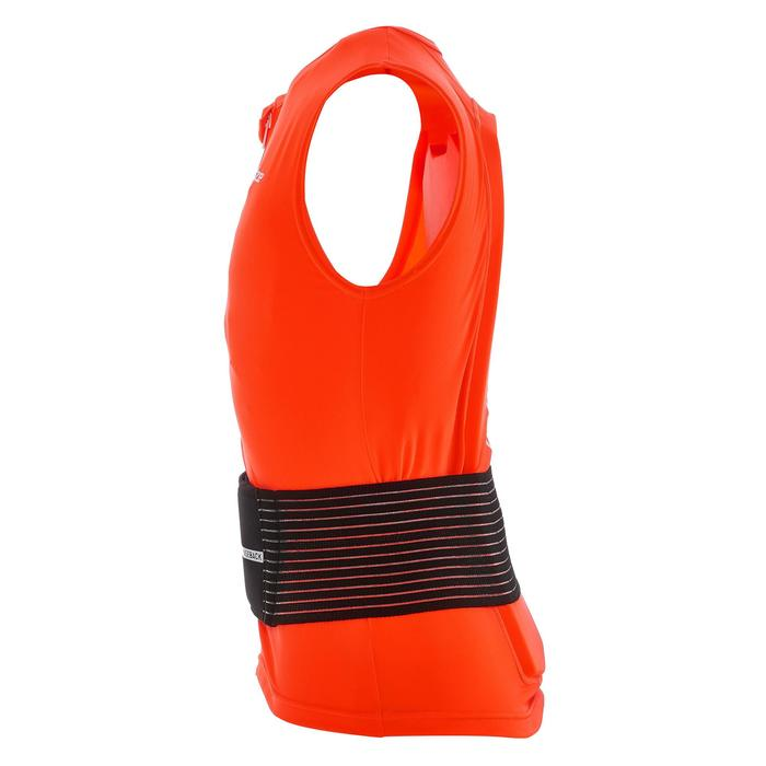 Rugbeschermer voor snowboarden en skiën volwassenen DBCK 100 oranje