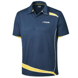 POLO DE TENNIS DE TABLE STIGA DISCOVERY BLEU/JAUNE
