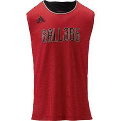 Basketbaltanktop Adidas B365 rood