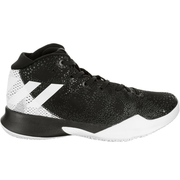 Chaussures Basketball Crazy Heat Blanche Noire