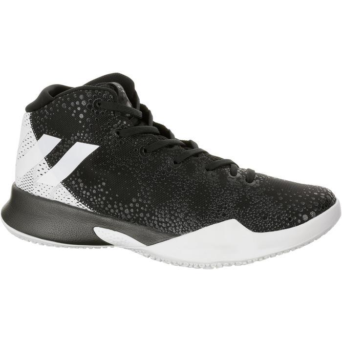 Chaussures Basketball Crazy Heat Blanche Noire - 1207518