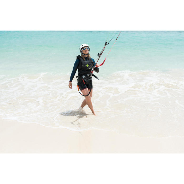 Zittrapeze voor kitesurfen - zwart