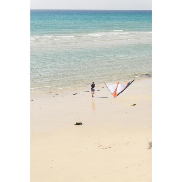 Cometas acrobáticas Playa Orao R201Negra(Naranja/Blanco Tubos carbono