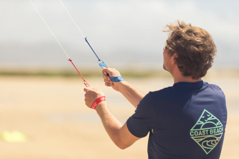 R201 Stunt Kite with Carbon Tubes.