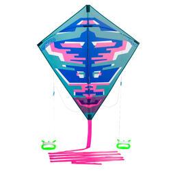 Lenkdrachen 2-in-1 (lenkbar und statisch) Izypilot 100 pink