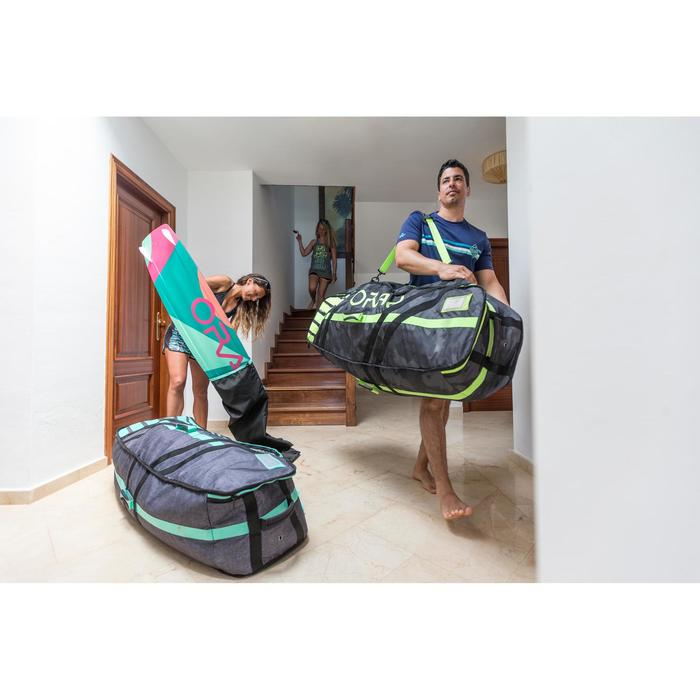 """HOME SPOT "" KITESURFING GEAR BAG  - Twin Tip 143 cm - green - 1207780"
