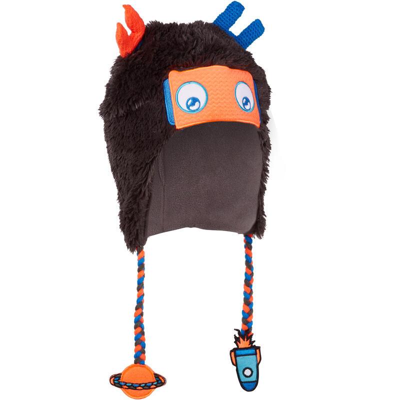 Căciulă Peruviană Schi Robot Gri Copii