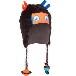 Skimütze Peruvian-Mütze Kid Robot Kinder grau