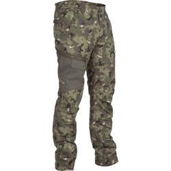 狩獵長褲900-迷彩色