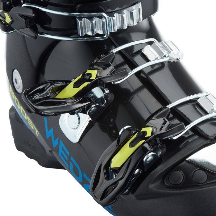 Skischoenen voor kinderen 500 zwart