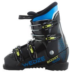Skischoenen voor kinderen SKI-P BOOT 500 zwart