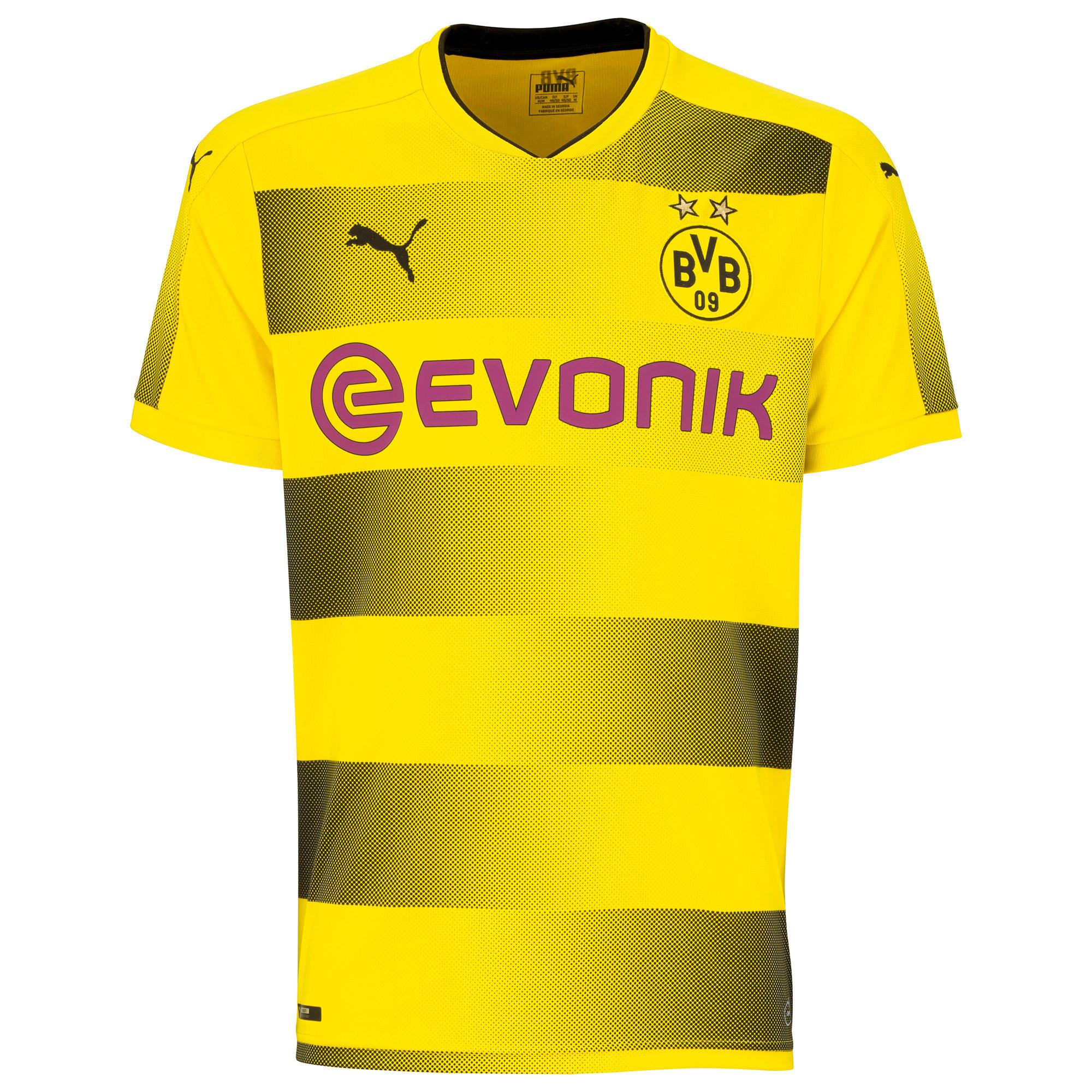 Puma Voetbalshirt Borussia Dortmund thuisshirt 17/18 voor volwassenen geel