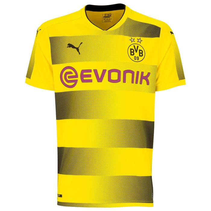 Maillot réplique de football adulte Dortmund  jaune - 1207894