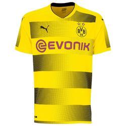 Voetbalshirt Borussia Dortmund 17/18 voor volwassenen geel