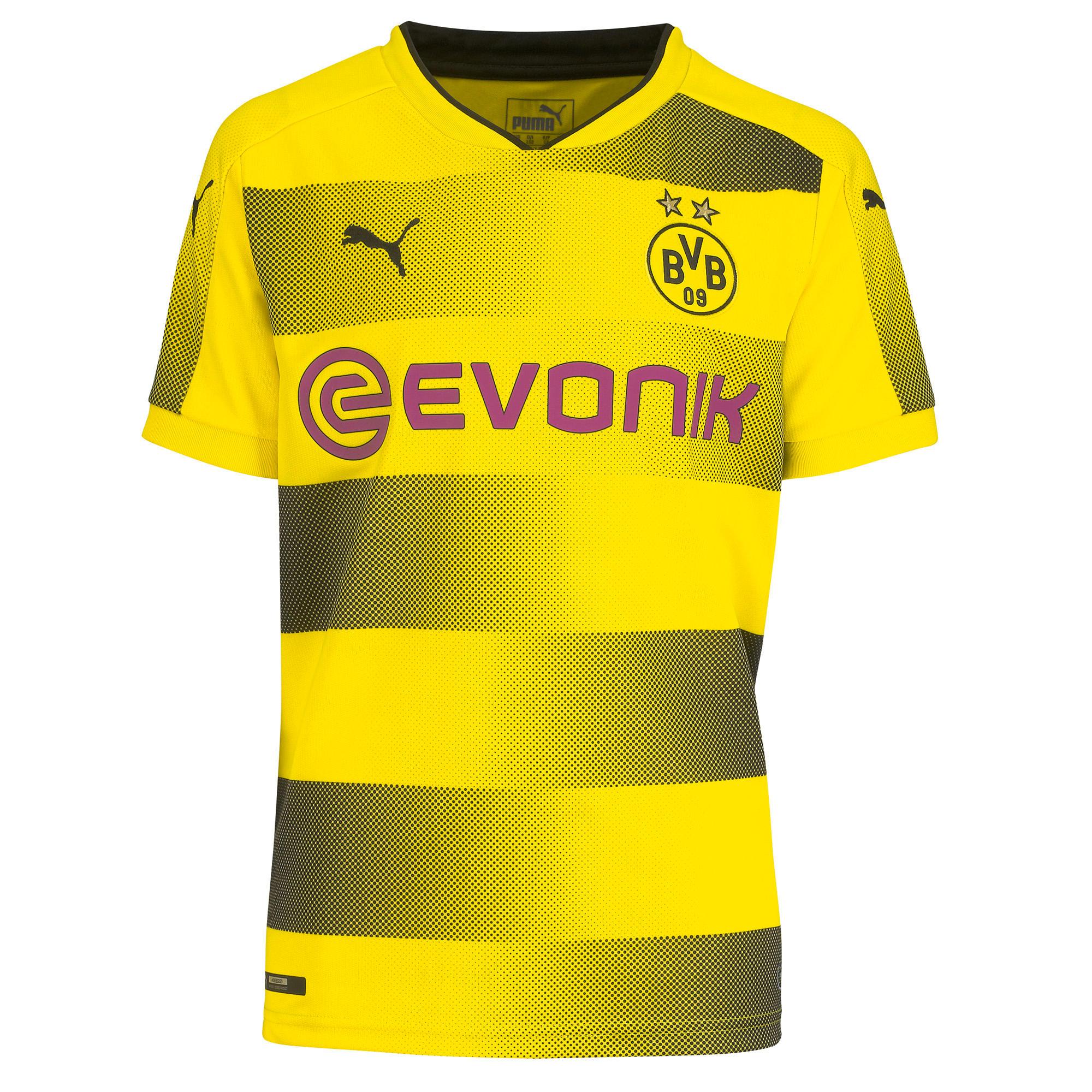 Puma Voetbalshirt Borussia Dortmund thuisshirt 17/18 voor kinderen geel