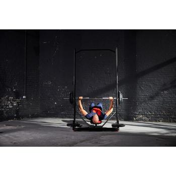 Opklapbare en schuin te zetten fitnessbank 500 DOMYOS - 1207902