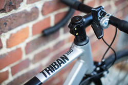Triban 100 Cycle Touring Road Bike - Grey