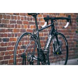 Rennrad Triban 540 Alu grau/schwarz