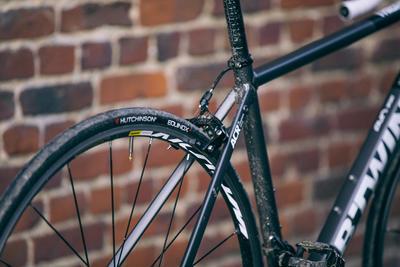 دراجة طرق رمادي/ أسود Triban 540 - رمادي