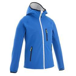 Hike 900 男童軟殼式健行運動夾克 - 藍色