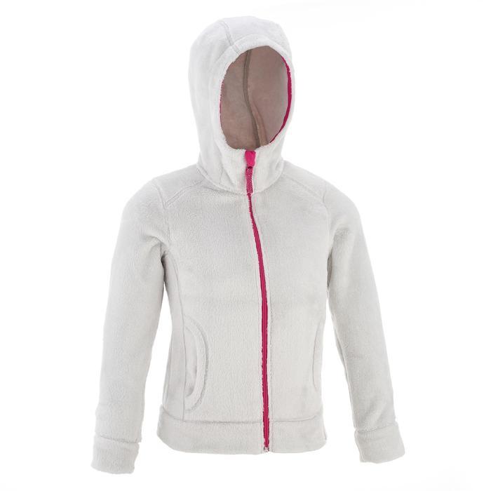 quechua veste polaire de randonn e fille hoodie warm decathlon. Black Bedroom Furniture Sets. Home Design Ideas