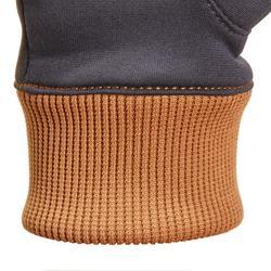 Winter-Reithandschuhe Easywear Kinder grau