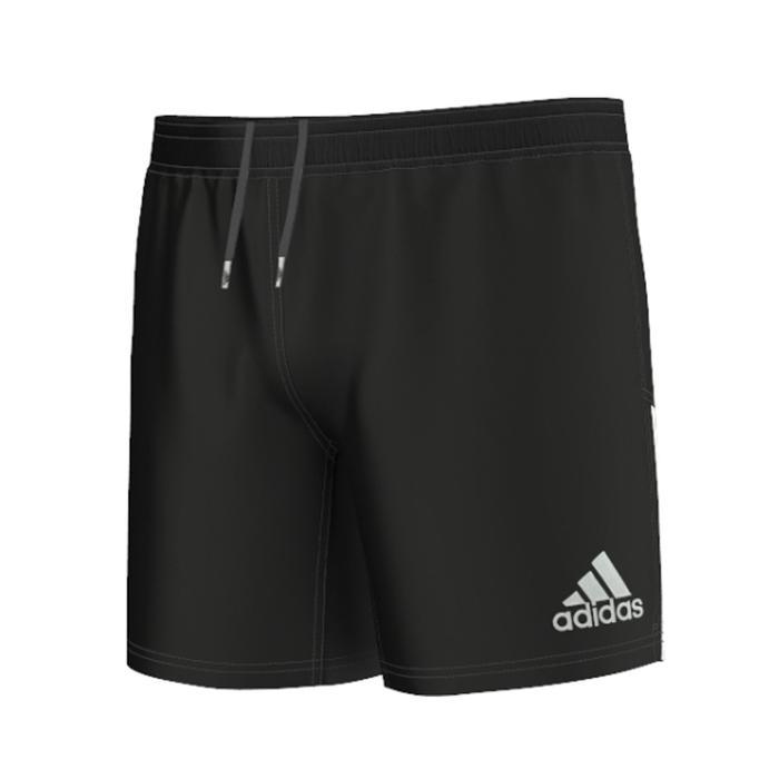 Short rugby adulte 3S noir - 120826