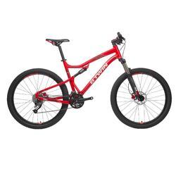 "Mountainbike 27,5"" Rockrider 540 S rot"