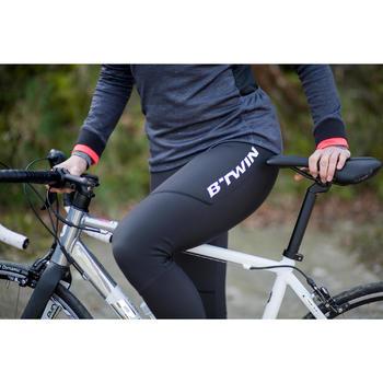 Collant vélo route femme TRIBAN 500 noir
