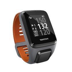 Golf GPS-Uhr Golfer 2 Special Edition grau/orange