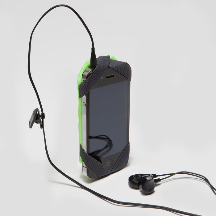 Smartphone-houder voor aan de arm hardlopen geel