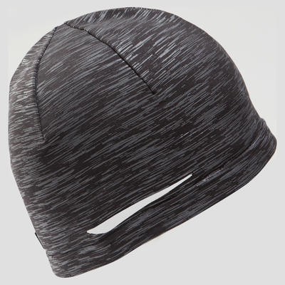 RUNNING HAT Mottled grey black