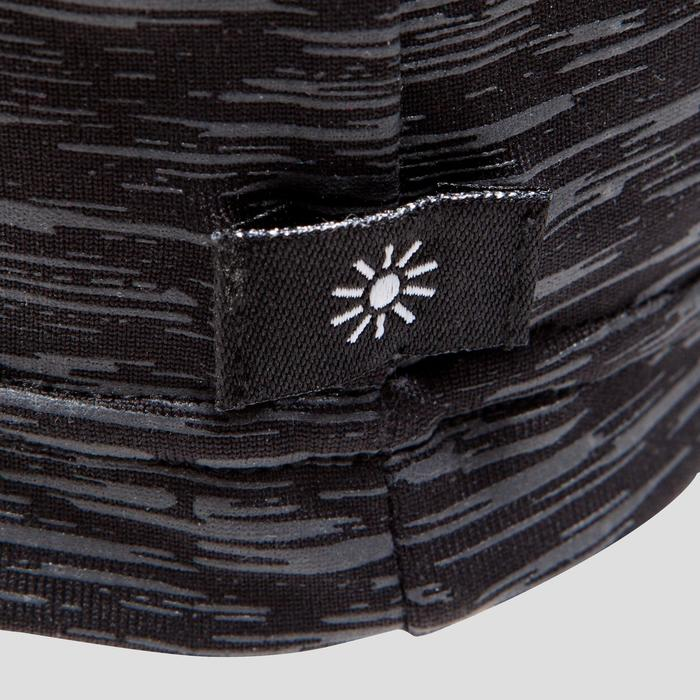 Hardloopmuts grijs/gemêleerd zwart
