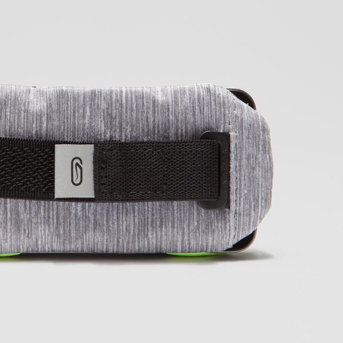 Smartphone-houder voor aan de hand hardlopen grijs