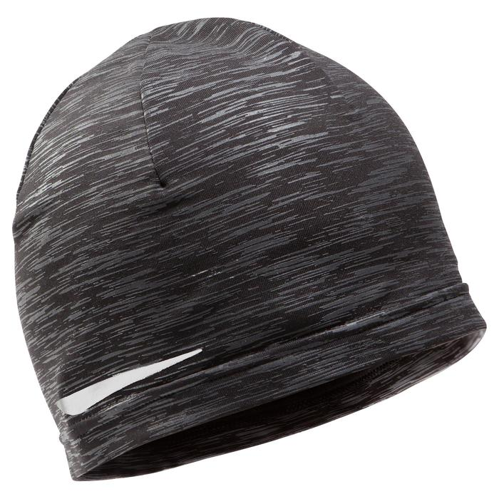 RUNNING HAT Mottled grey black