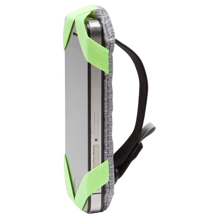 Smartphone-houder voor aan de arm hardlopen grijs