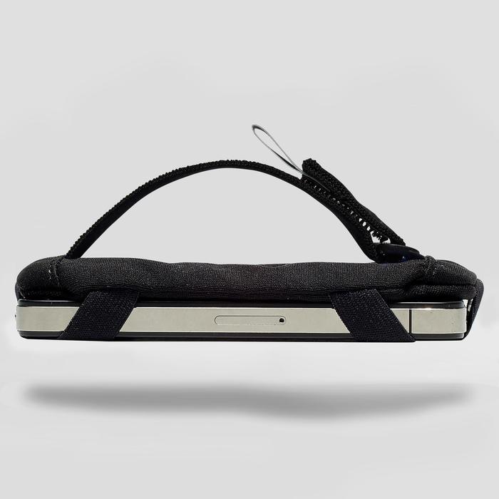Smartphone-houder voor aan de arm hardlopen zwart